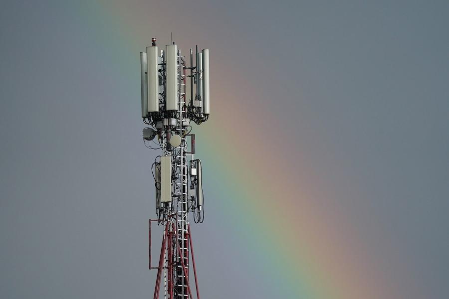 Вышка мобильной связи в Польше