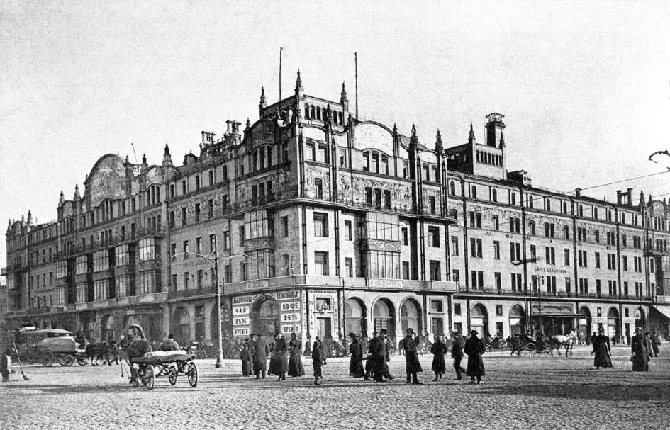 Гостиница «Метрополь» в Москве в 1910 году