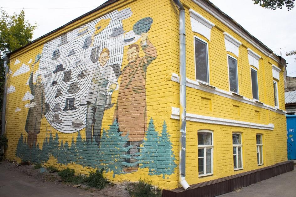 Отреставрированный фасад дома 38 на улице Льва Толстого в Самаре
