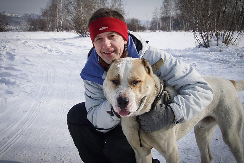 Сергей Гущин, сооснователь школы дрессировки собак Problem Dog