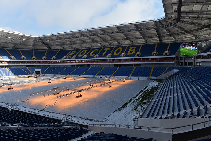 Cтадион «Ростов Арена». 2 марта 2018 года
