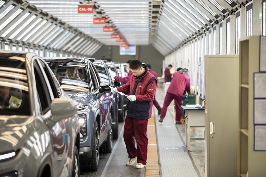 Завод NIO в Хэфэ́й в провинции Аньхой КНР