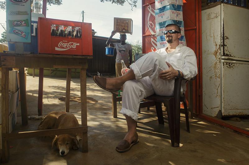 Сергей Ющенко живет в Западной Африке уже три года.
