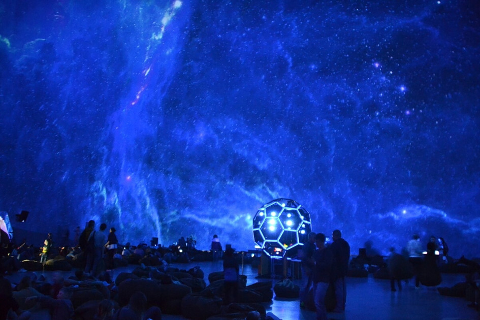 Купол Планетария в Санкт-Петербурге