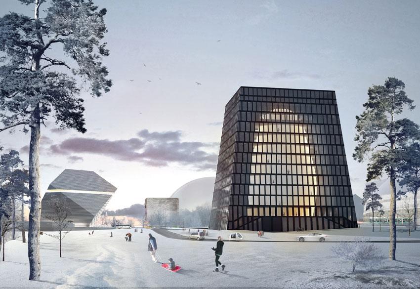 Так будет выглядеть здание Матрекс после постройки