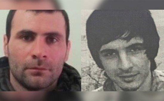 Завур Хамутаев (слева) и Азамас Шихавов (справа), находящиеся в федеральном розыске за совершение тяжких преступлений