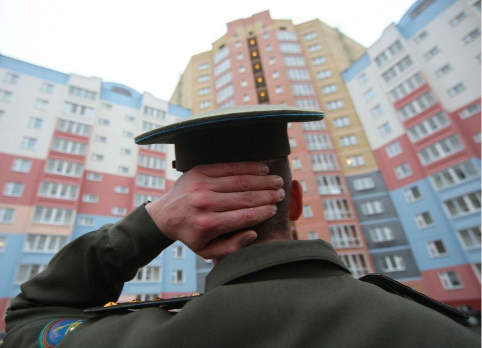 Военный может получить квартиру после 20 лет службы