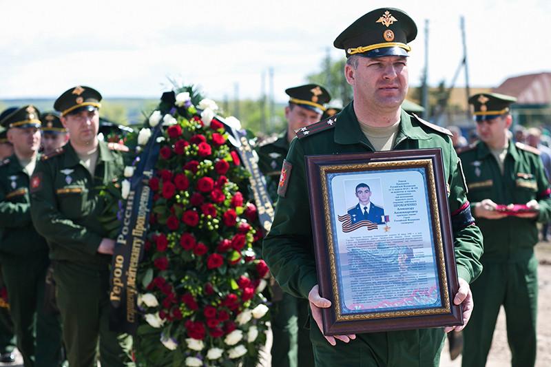 Список погибших россиян с начала кампании ВКС в Сирии