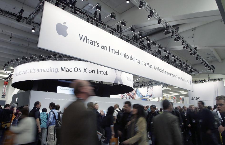 Apple и Intel начали сотрудничество в 2006 году