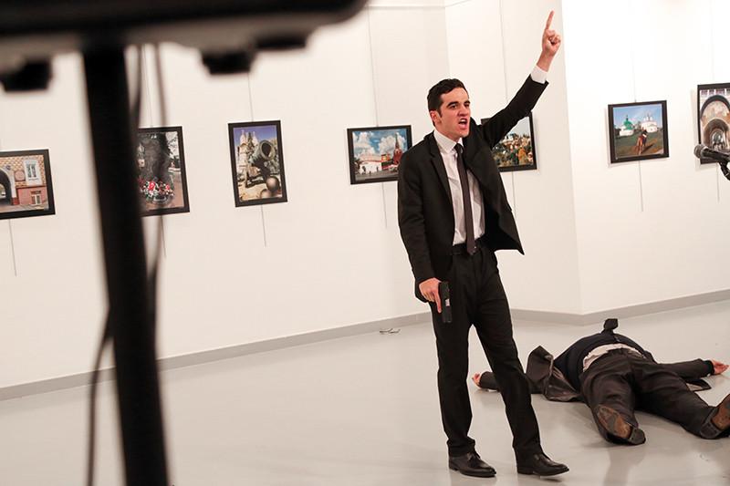 Террорист, напавший на посла России в Анкаре Андрея Карлова