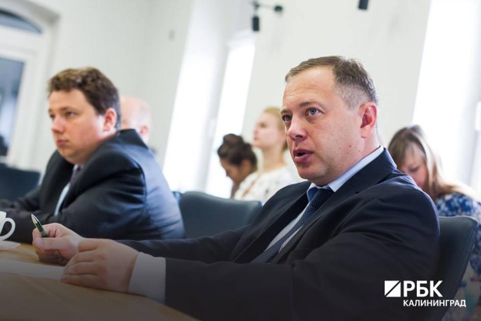 Владимир Зарудный, генеральный директор объединенной Корпорации развития Калининградской области