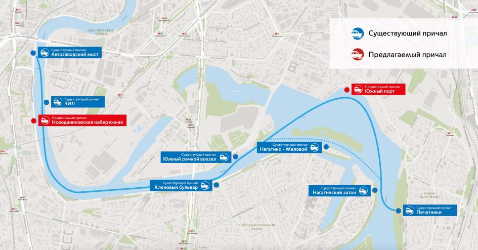 Схема маршрута 2
