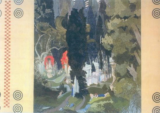 Л.С.Бакст. Элизиум. 1906.