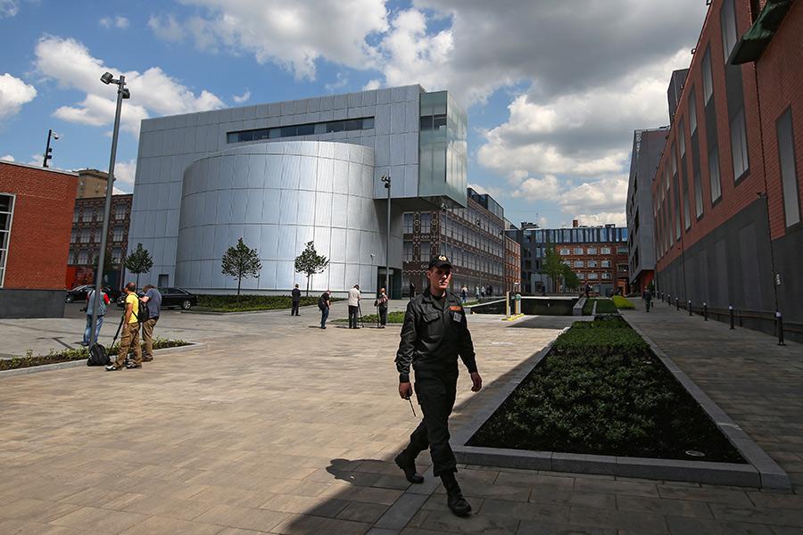 Здание Музея русского импрессионизма натерритории бывшей кондитерской фабрики «Большевик»