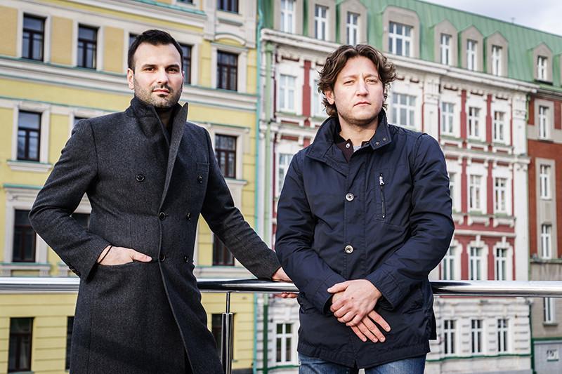 Артем Зарубенко (слева) и Михаил Ошкин.