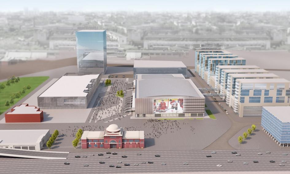 Участок строительства находится в центральной части производственной зоны №27
