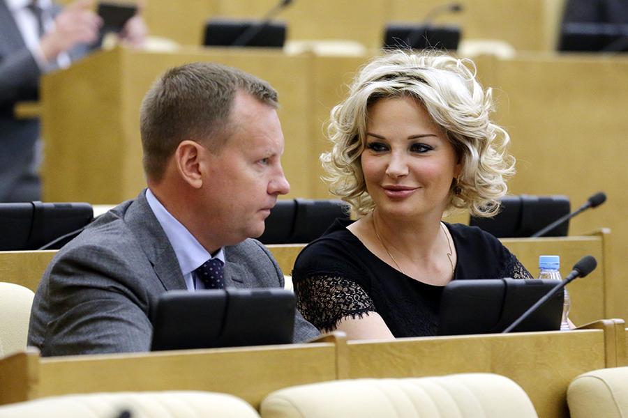 Денис Вороненков иМария Максакова