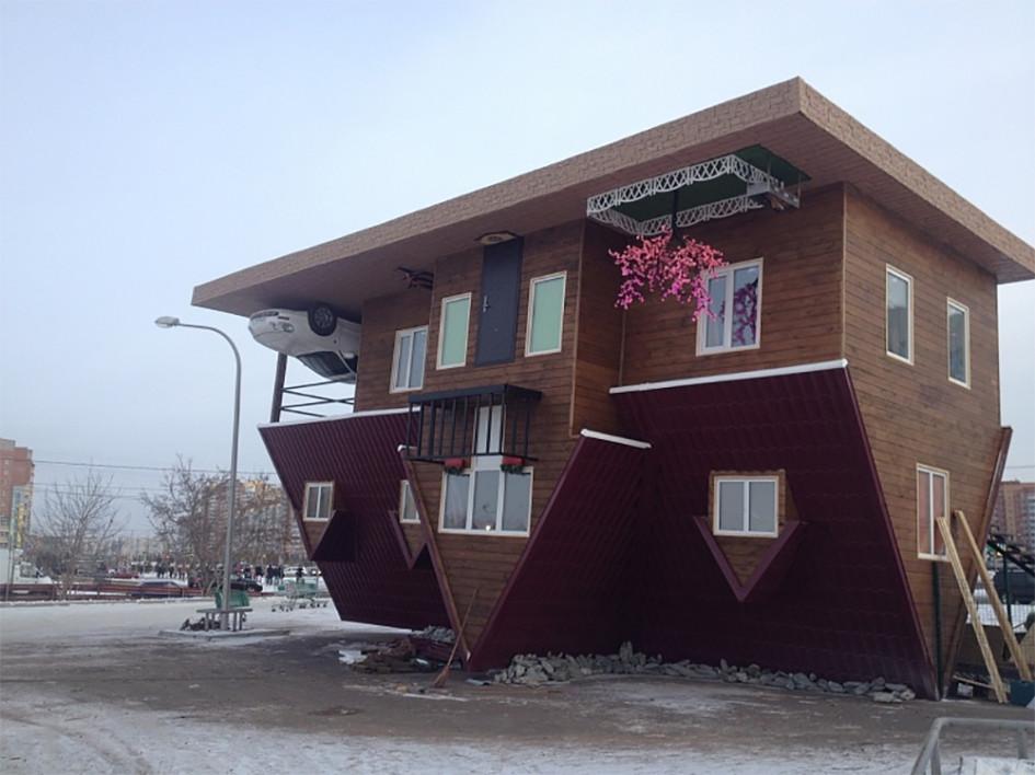Красноярский дом-наоборот