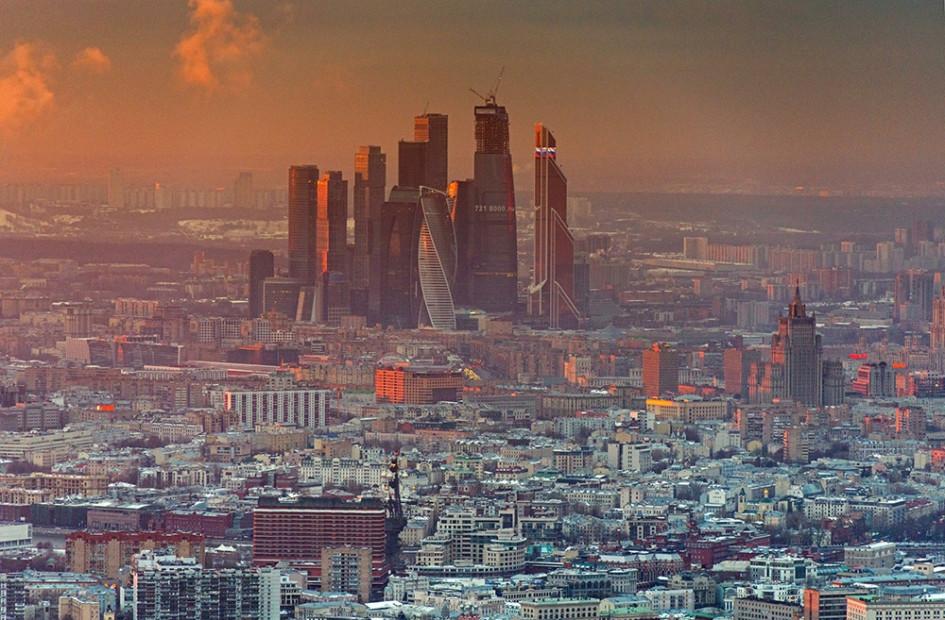 «Москва-Сити». Современный вид