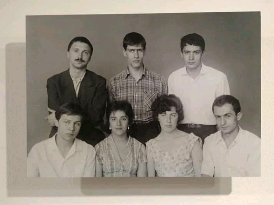 Дед Андрей Бабуров в составе НЭР