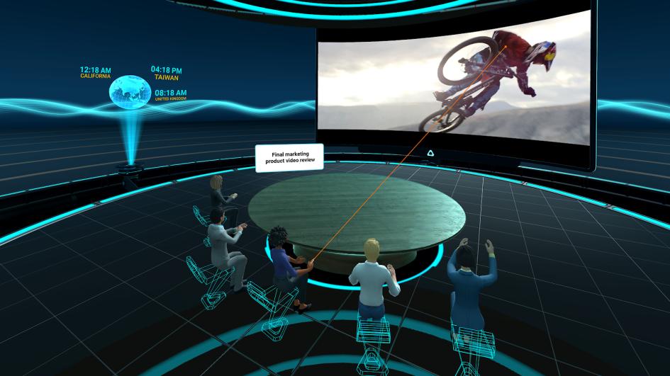 Встреча команды HTC Vive на платформе Vive SYNC