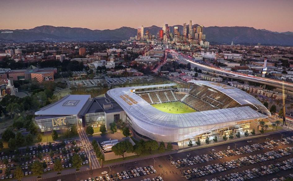 Banc of California Stadium (Лос-Анджелес, США). Вместимость 22 000 зрителей, сроки строительства — 23 августа 2016г. — 21 апреля 2018г., стоимость строительства — $350 млн.