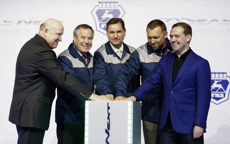 Губернатор Нижегородской области Валерий Шанцев, председатель совета директоров ОАО