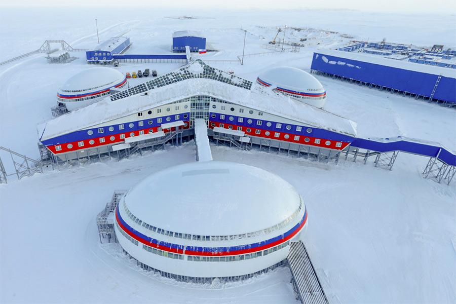 Военная база «Арктический трилистник»