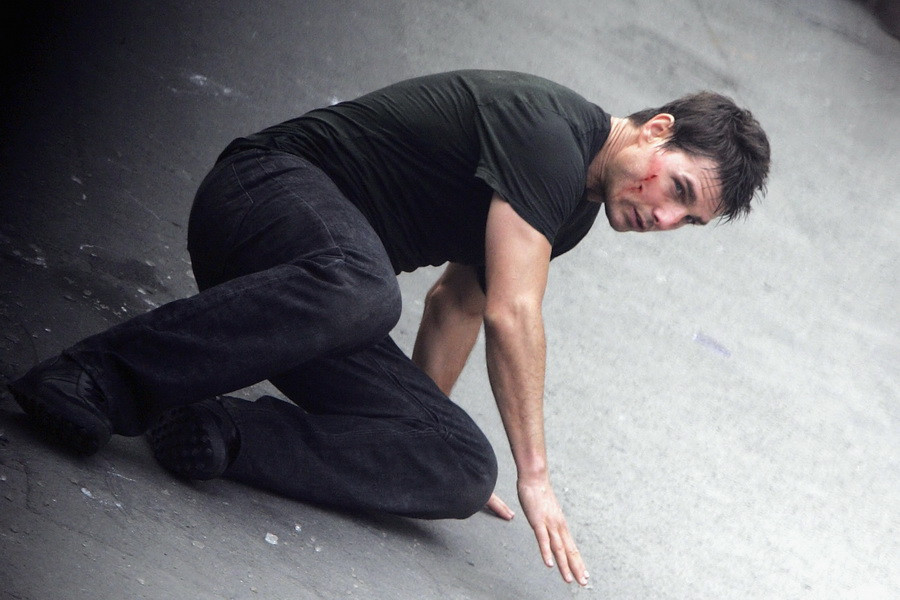 Актер Том Круз на съемках «Миссия невыполнима 3»