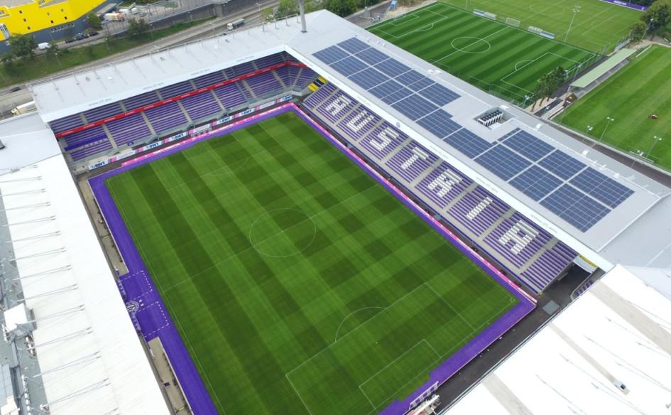 Franz-Horr-Stadion (Вена, Австрия). Вместимость 17 500 зрителей, реконструкция — 2016-2018гг., стоимость реконструкции — $48,2 млн.