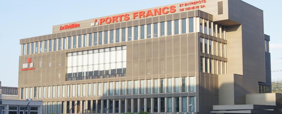 Фрипорт в Женеве