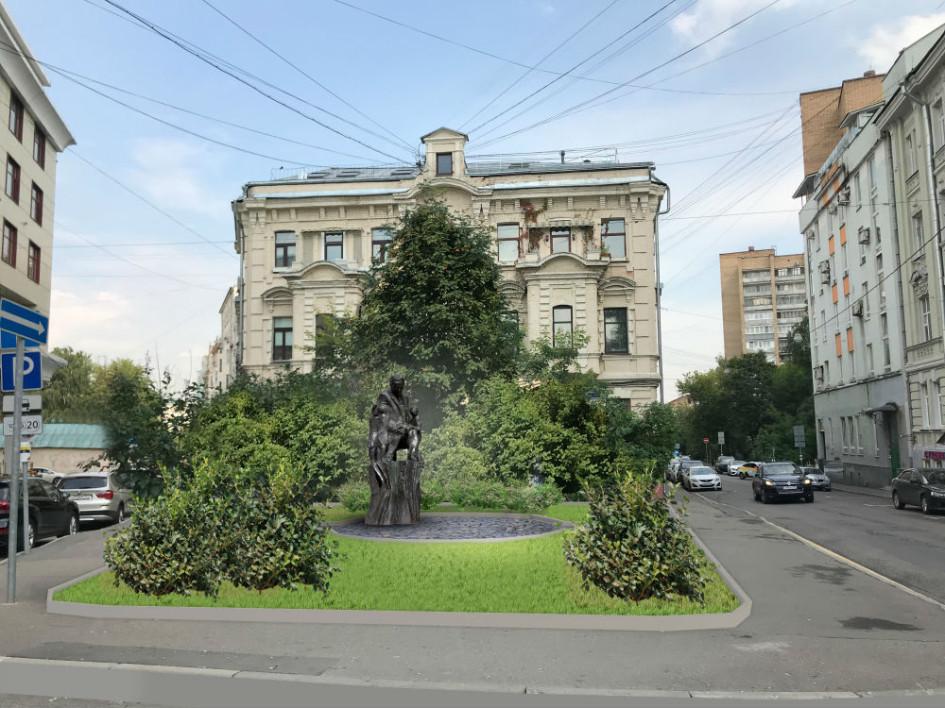 Проект памятника Маршаку