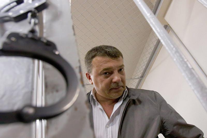 Глава управления собственной безопасности СК РФ Михаил Максименко вЛефортовском суде, 19 июля 2016 года