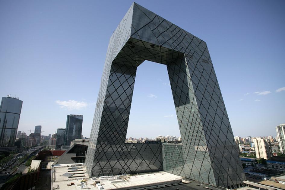 Центральное здание CCTV, Пекин