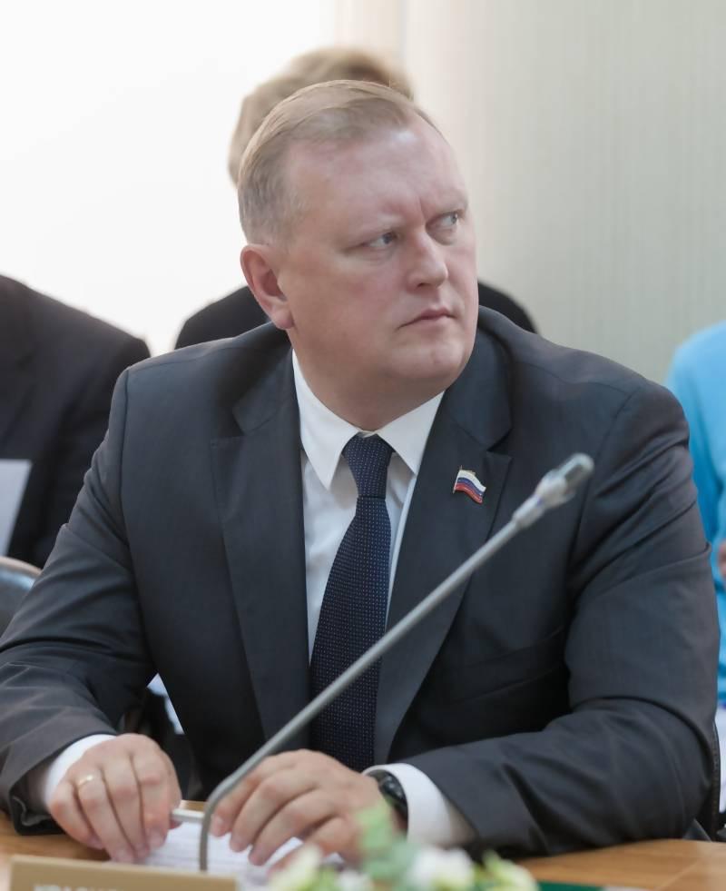 Сергей Красильников, депутат Городской думы Архангельска