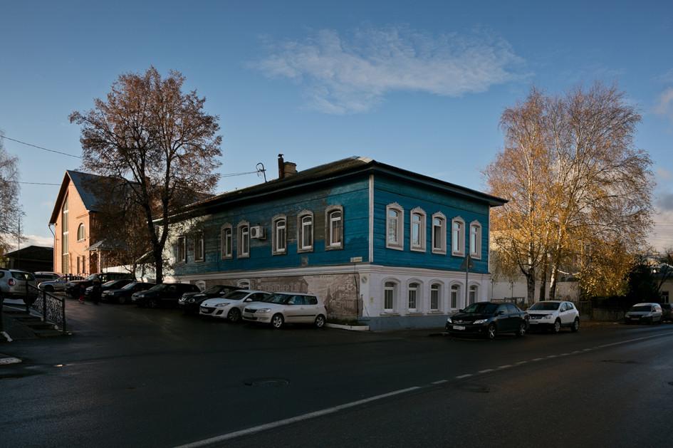 Дом, восстановленный волонтерами «Том Сойер Фест»
