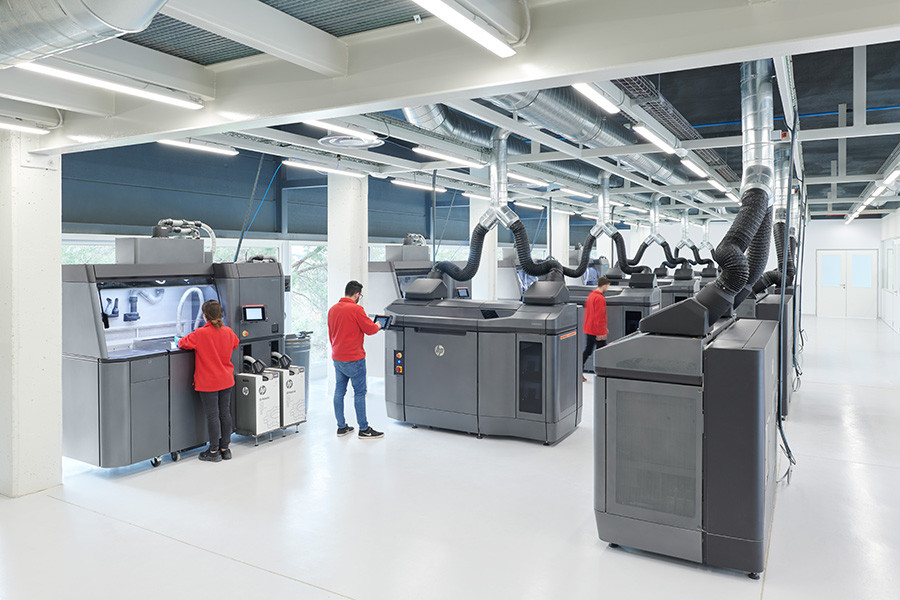 3D-принтерHP Jet Fusion 4210
