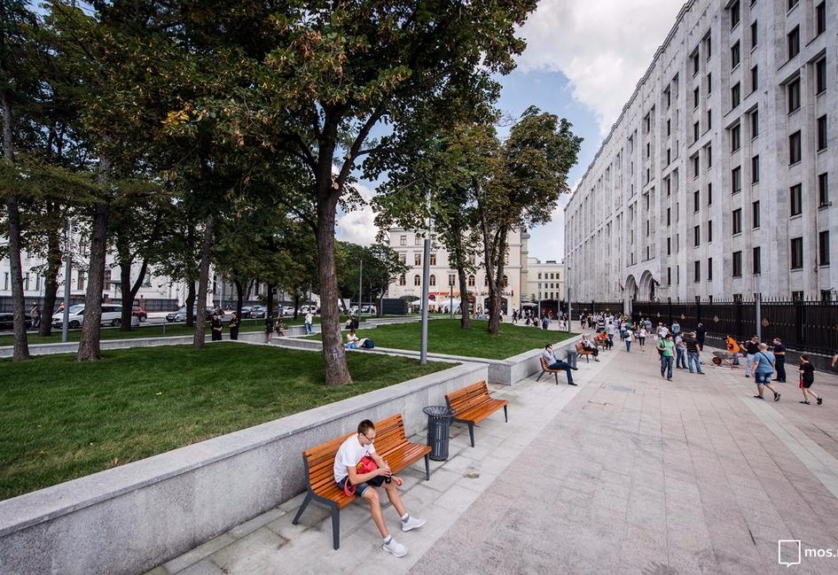 Сквер на Арбатской площади