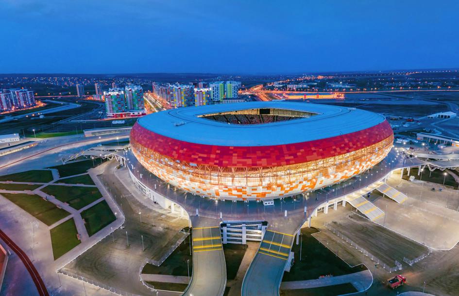 Виды стадиона в Саранске