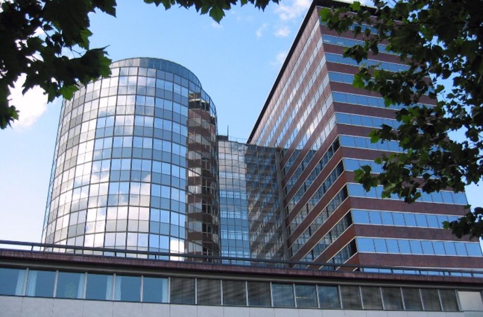 Здание Центрального банка Нидерландов в Амстердаме
