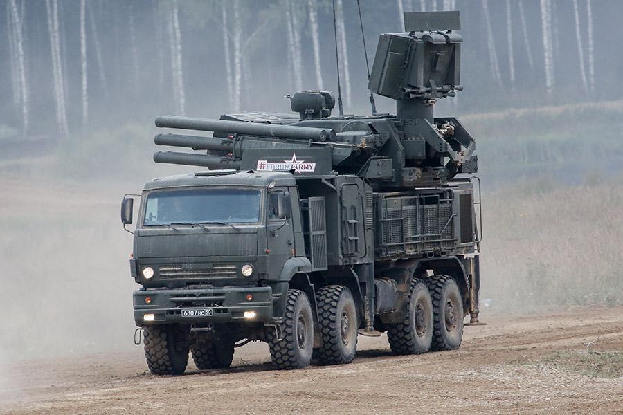 Ракетный комплекс «Панцирь-С1»