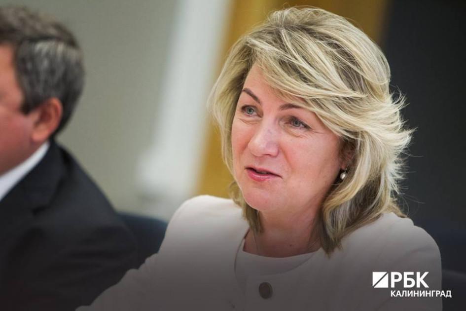 Марина Фицак, вице-президент Совета «Калининградская торгово-промышленная палата»