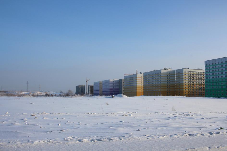Жилое строительство в Новосибирске