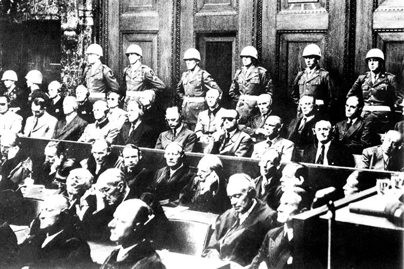 Военные преступники на Нюрнбергском процессе
