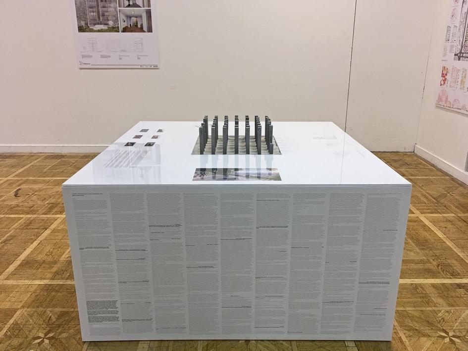 Проект экспозиции «REдевеломпент. Архитектор в построенном городе». AI-architects