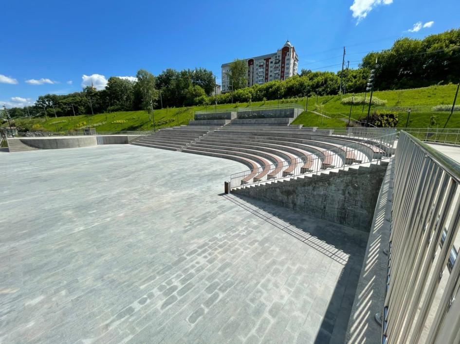 Закрытая до 12 июня часть набережной Перми. Фотогалерея