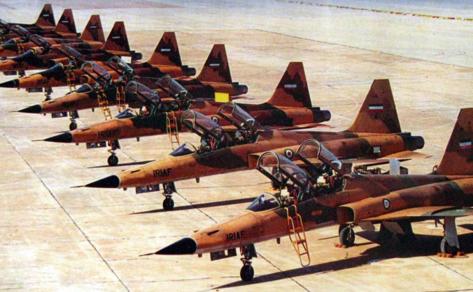 Самолеты иранских военно-воздушных сил во время ирано-иракской войны