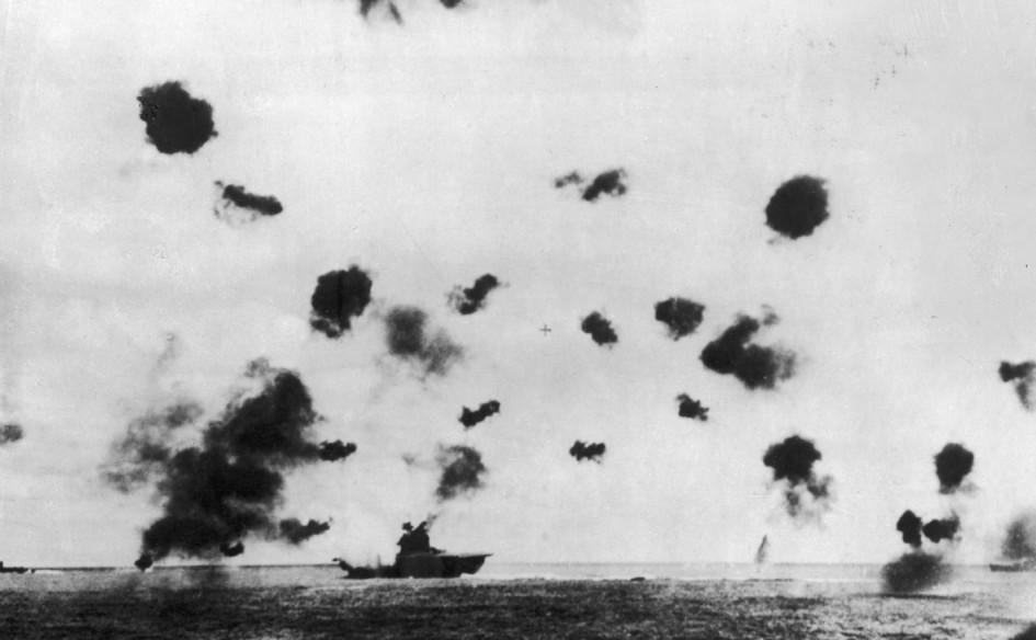 Битва при Мидуэй. 1942 год
