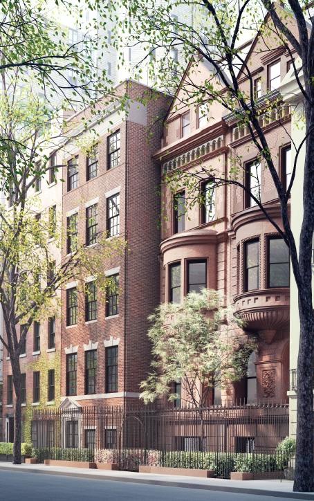 Одобренный проект реконструкции домов в Верхнем Ист-сайде