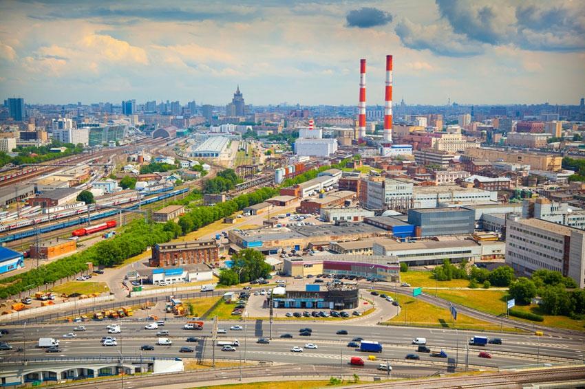 Промзоны Москвы
